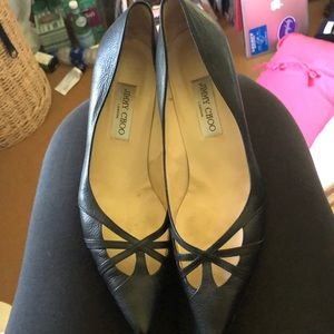 Jimmy Choo cut out  pumps size 11 m